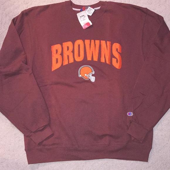 Champion Shirts | Cleveland Browns Sweatshirt | Poshmark  supplier